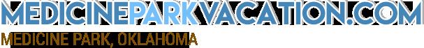 Medicine Park Vacation Logo