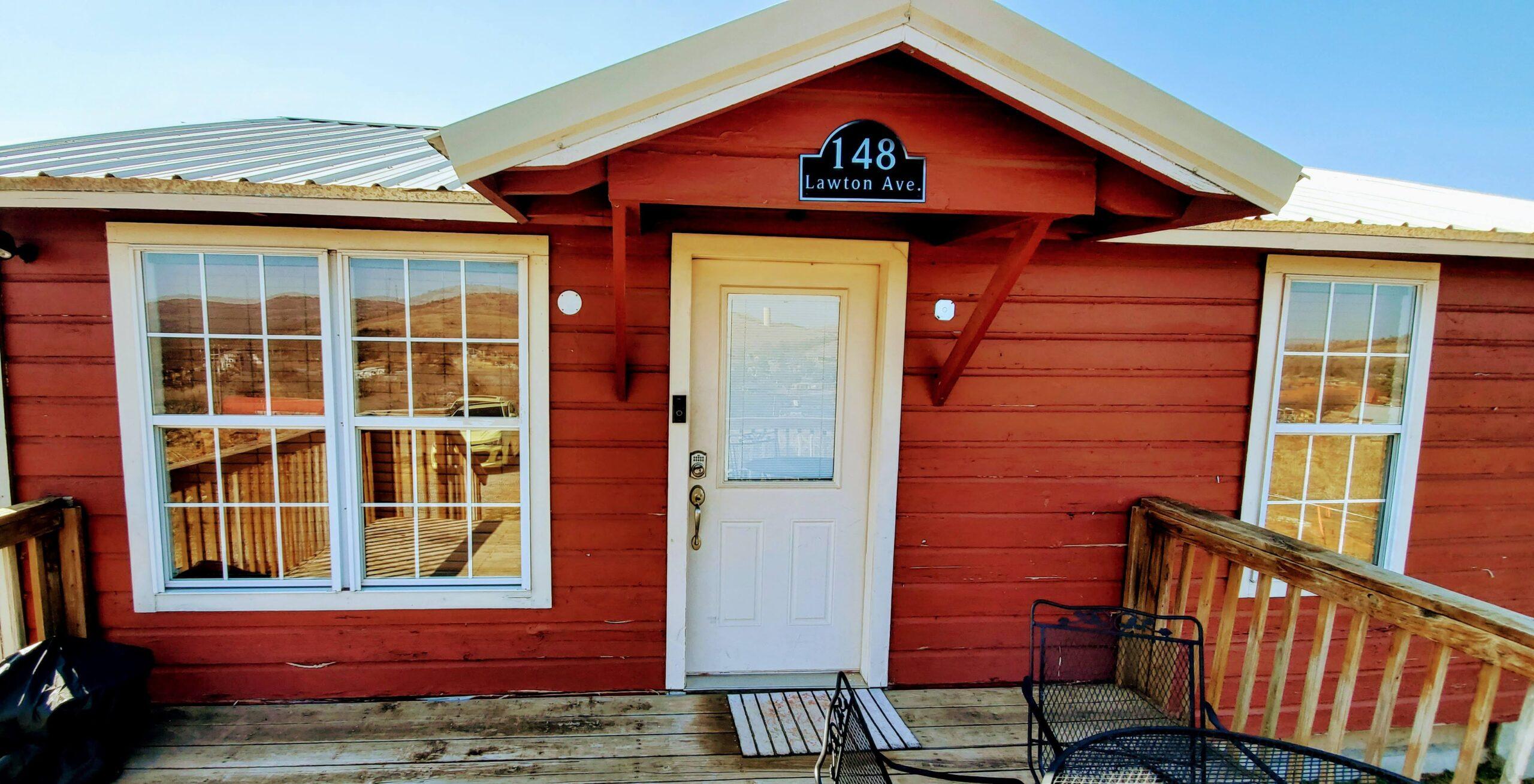 Red Cabin Deck
